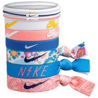 Nike Girls' Mixed Ponytail Bands - 9-Pack